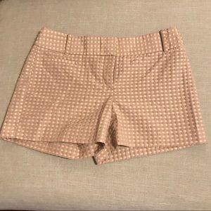 Ann Taylor Tan/Coral Shorts